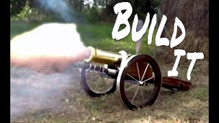 BUILDING an historic BRASS CANNON Ep 1 - machining and boring the barrel on my lathe