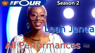 LEAH JENEA ALL PERFORMANCES The Four Season 2