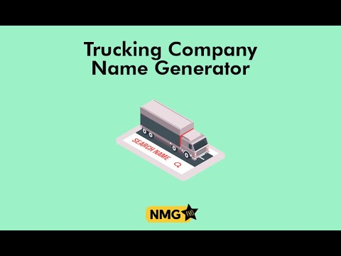 , title : 'Trucking Company Name Ideas  | Name Generator Pro