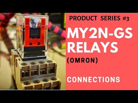 Omron Relay MY2N -MY4N