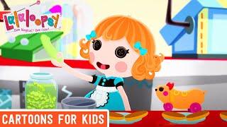 Lalaloopsy - Fine Dining | Lalaloopsy Webisode Compilation | HD Full Episodes | Videos For Kids