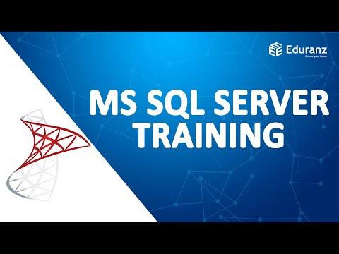 MS SQL Server Certification   Microsoft SQL Server ... - YouTube