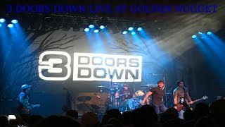 3 Doors Down LIVE at Golden Nugget on June 30, 2017