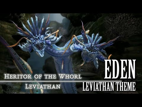 FFXIV OST Eden Leviathan Theme ( Blinding Indigo ) SPOILERS