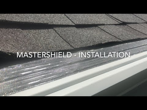 A brief overview of the MasterShield installation process shown on a home in Gainesville, VA.