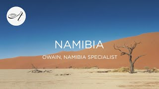 My travels in Namibia, 2018