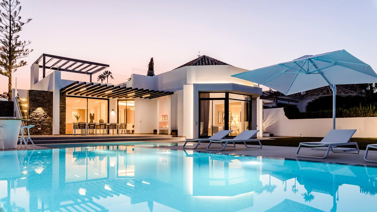 New State of the art Modern Villa, Aloha Golf Club, Nueva Andalucía, Marbella