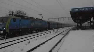 preview picture of video 'EU45-154 PKP CARGO przejeżdża przez Kędzierzyn-Koźle'