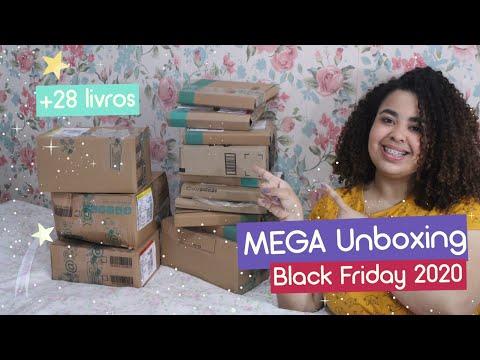 MEGA UNBOXING DA BLACK FRIDAY | + 28 livros novos | Estrelado