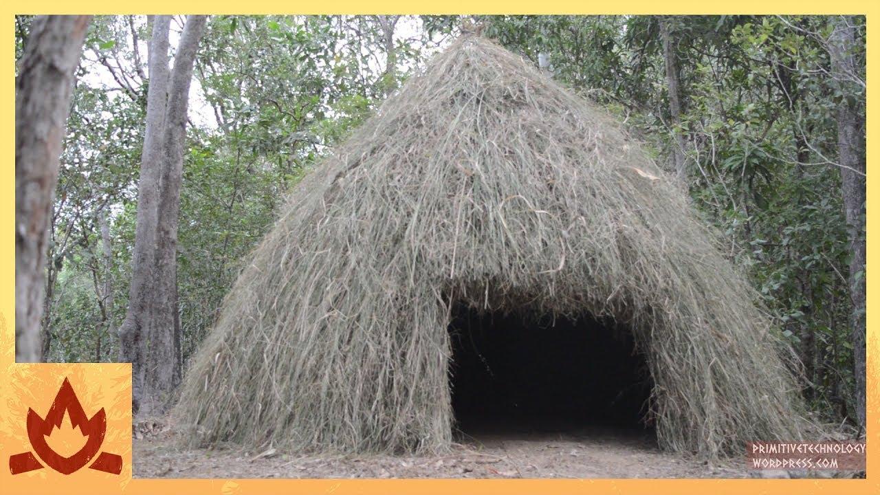 Как построить хижину для ночевки в лесу