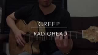 "Video thumbnail of ""Creep - Radiohead (Fingerstyle Guitar)"""
