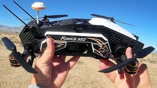Walkera Furious 320 Dragster Drone Flight Test Review