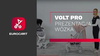 ДЕТСКАЯ ПРОГУЛОЧНАЯ КОЛЯСКА Euro Cart Volt  Pro anthracite от компании Beesel - видео