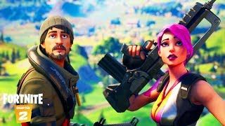 "FORTNITE ""SEASON 11"" EVENT ENDING REACTION LIVE + NEW BATTLE PASS AND NEW MAP GAMEPLAY!"