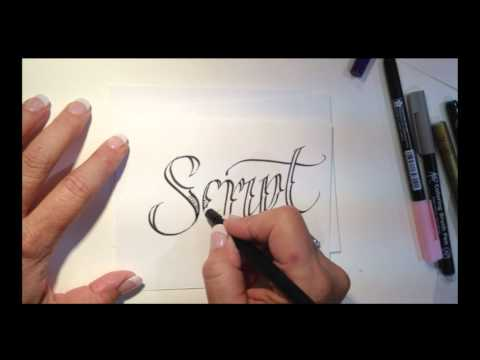 Tattoo Style Lettering With Lisa Engelbrecht Mp3