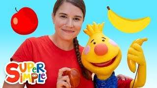 Apples & Bananas | Sing Along With Tobee