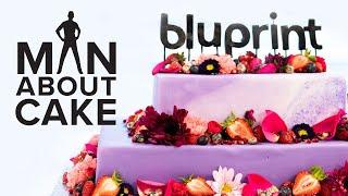 Bluprint Cake for Joshua's Co-workers | Man About Cake | Kholo.pk
