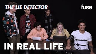 In Real Life Take A Lie Detector Test