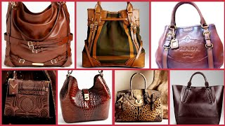 Most Demanding Pure Leather Ladies Hand Bags Designs Collection 2019/Branded Hand Bags Images Video