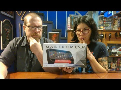 The Board Game Kaptain's review and tutorial for Mastermind