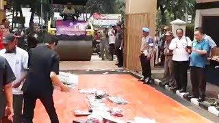 Kejari Jakarta Barat Musnahkan Barang Bukti dari 945 Perkara Sejak 2017