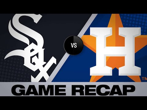 5/20/19: Astros pitchers blank White Sox in 3-0 win