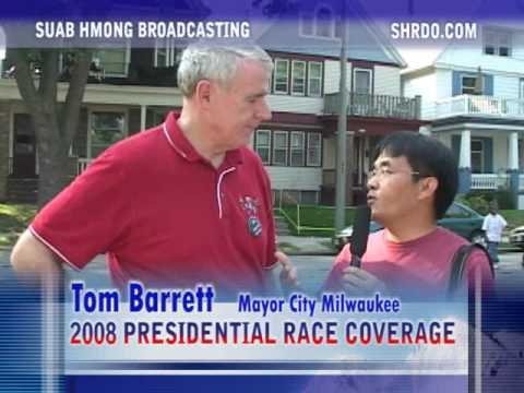 Suab Hmong Radio Special Coverage on President Obama's Campaign in 2008 Part 2 of 2