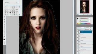 Белла Каллен, Превращение Беллы вампира Bella vampire FOTOSHOP