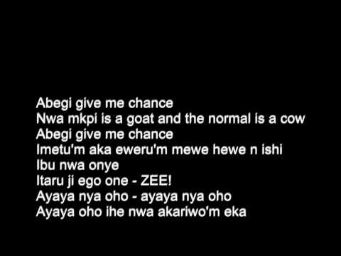 Flavour -  Gbo Gan Gbom ft.  Phyno & zoro - Lyrics