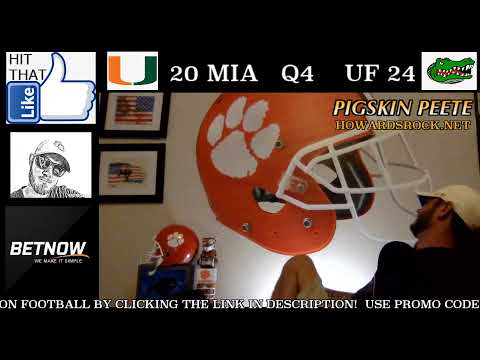 Miami Hurricanes vs Florida Gators | LIVE Play by Play & Reaction