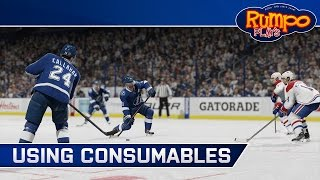 NHL 15 HUT - How To Use Consumables