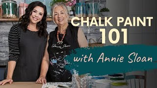 Chalk Paint Basics With Annie Sloan