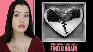 Find U Again ~ Mark Ronson Ft. Camila Cabello Single Reaction