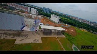 Jakarta International Climbing Wall Park at Jakarta Garden City on FPV Drone - FPV2AN