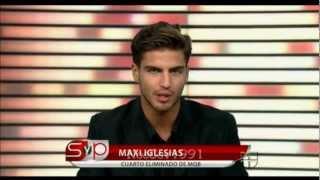 "Максимилианно Иглесиас, Шоу ""Sal y Pimienta"""