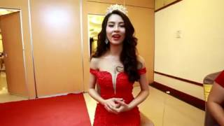 """Hoa hậu biển Thùy Trang nói tiếng anh cực """"chuẩn"""""""