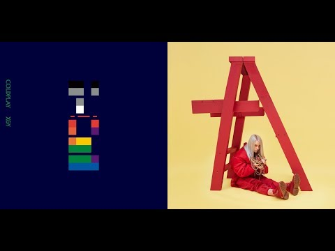 Coldplay/Billie Eilish - Twisted Logic/idontwannabeyouanymore Mashup Video