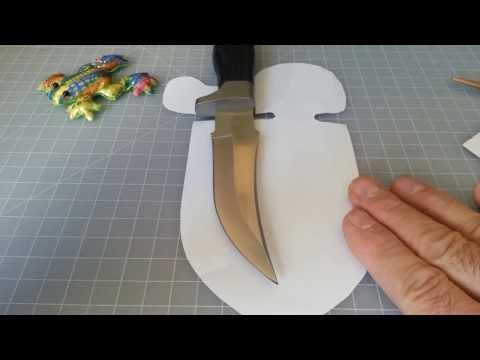 How To Make A Knife Sheath | Full Tutorial Mp3