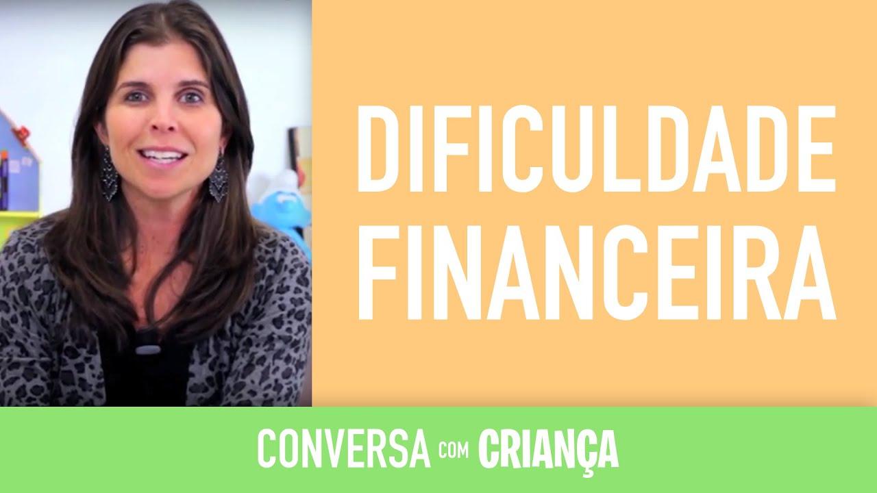 Dificuldade Financeira | Conversa com Criança