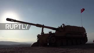 Turkey: Turkish forces enter northwest Syria