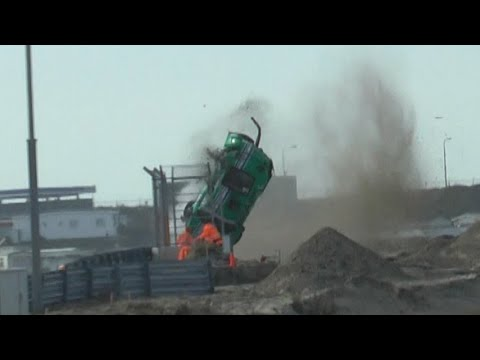 Image: Watch: Massive crash at first race on renovated Zandvoort