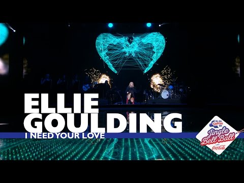 Ellie Gouding - 'I Need Your Love' (Live At Capital's Jingle Bell Ball 2016)
