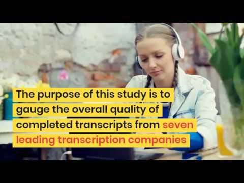 Why Transcriptionists Need to Be Tested Before Employment? [TCI ...