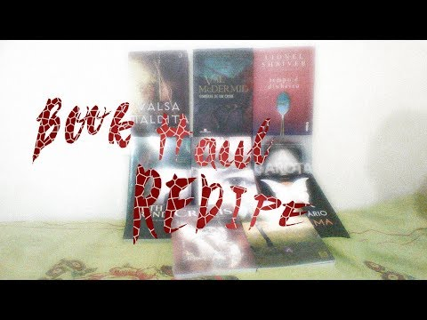 Primeiro BOOK HAUL do REDIPE (O QUE É UM BOOK HAUL?) com muito suspense e poesia