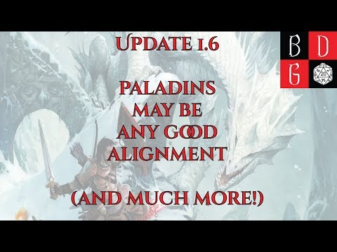 Paladins can now be ANY Good alignment? (Upcoming P&P