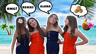 24 Hours Traveling to HAWAII with My Best Friends **HOLIDAY SURPRISE**🌴| Clementine @Piper Rockelle