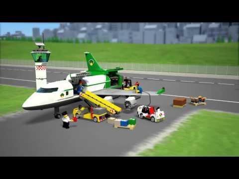 Vidéo LEGO City 60022 : Le terminal de l'aéroport