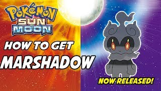 Marshadow  - (Pokémon) - MARSHADOW RELEASED! How to Get Marshadow in Pokemon Sun and Moon!