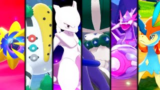 Pokemon Sword & Shield - All DLC Legendary Pokemon Catches! (Crown Tundra)