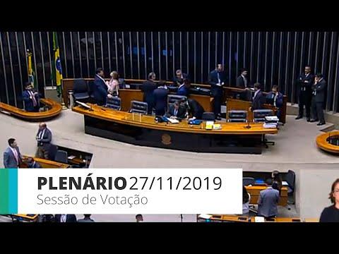Plenário - Projeto que institui política industrial do setor de informática - 27/11/19 - 14:36